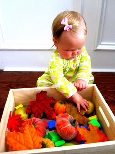 Toddler Approved!: Baby Autumn Sensory Bin