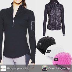 PER INFO E ORDINI #whatsapp 3281495144-3272080063 http://ift.tt/1mZKC66 Repost from @stopandplayrimini using @RepostRegramApp - #underarmourwomen #storm #allseasons #compression #coldgear #sale #donna #sportwear #underarmour #sportech #nero #black #pink #camouflage #coldgear #palestra #sports #fitness #rosa #bianco #riminiwellness #rimini #fitness #workout #womensfashion #womenswear by tampagia