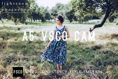Lightroom Preset & Photoshop Filter A5 VSCO Cam by FilterSupplyCo