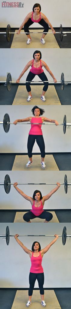 The Snatch - Learning the #Olympic Lifts for Cross Training