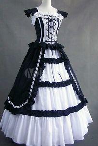 gotisches Lolita Kleid Gr.L