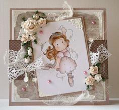 Prismacolors, Ballerina Tilda, Fairy Tale Collection, Magnolia stamps
