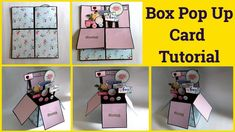 Hey everyone…! Welcome to my channel SangitaaRawat This is an easy tutorial video on how to make Box Pop Up Card Birthday Card Pop Up, Unique Birthday Cards, Birthday Cards For Mom, Diy Birthday, Birthday Cake, Box Cards Tutorial, Mini Album Tutorial, Card Tutorials, Diy Tutorial