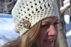 Hey, I found this really awesome Etsy listing at https://www.etsy.com/listing/223574760/chunky-slouch-hat-toque-adult-slouch-hat