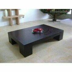 Mesa de centro Home Decor Furniture, Sofa Furniture, Modern Furniture, Coffee Table Desk, Japanese Table, Center Table, Rustic Table, Table Plans, Interior Decorating