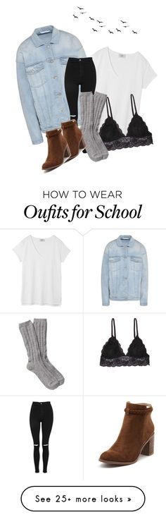 """school inspiration"" by chantaltereza on Polyvore featuring STELLA McCARTNEY, Hush, Topshop, Humble Chic, UGG, Billini, BackToSchool and school"