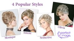 The Wig Company - Pre-styled Updo Wigs by Perfect Image