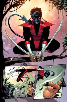 IN THE COMIX • Nightcrawler Returns! Marvel Presents Your First look at Amazing X-Men #1