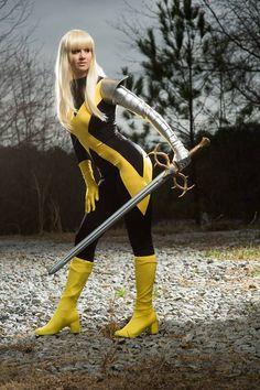 Alys Snuggiemouse Adamantium - Magik - Cosplay - X-Men Marvel Comic Books 4f37bf69d