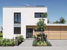 Prefab Home Architecture & Design Modern Architecture House, Modern Buildings, Architecture Design, Living Haus, Natural Building, Prefab Homes, Modern Exterior, House Plans, House Styles