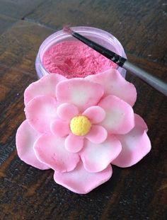 How To Make Petal Dust #cake_decorating #flowers #gum_paste #fondant #non_toxic #embellishment
