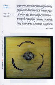 GIANNI GUIDI-54 Esposizione Internazionale D'Arte della Biennale di Venezia - Padiglione Italia - Mandala, pubblicato pag 588.