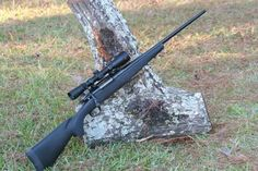 Marlin XL7 rifle with a Redfield scope. The article associated with this photo showed the XL7 to be a sub-moa rifle and superior to the Ruger American. AND my next rifle!