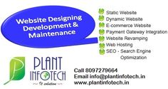 Plant Infotech IT Solutions Email : info@plantinfotech.in Whats App +91 8097279664 / 65 Follow us : www.facebook.com/plant.infotech