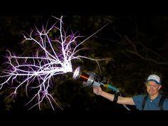 Arma de rayos con una bobina Tesla - Neoteo