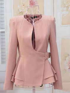 Zanzea® Concealed Button Small Suit