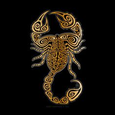 Read your scorpion horoscope tap now Scorpio Zodiac Tattoos, Scorpio Art, Scorpio Traits, Zodiac Signs Scorpio, Zodiac Art, My Zodiac Sign, Half Angel Half Demon, Scorpion Sign, David Mann Art