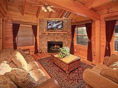 """Southern Comfort"" 1 Bedroom luxury Gatlinburg cabin rental"
