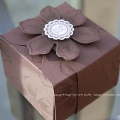 Chocolate Pandora's Box using the Gift Box Punch Board and Envelope Punch Board https://www.youtube.com/watch?v=Zt6P6YqfgyY
