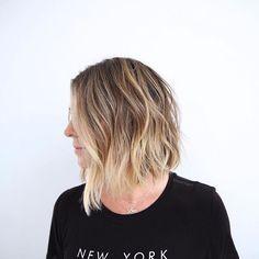 Brunette meets blonde  Color: @kccarhart Cut: @anhcotran  #beachyhair #americansalon #hairgoals #behindthechair #beachhair #modernsalon #bronde #highlights #hairinspo #prettyhair #brunettehighlights #highlights