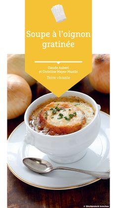 #soupe #soupeoignon #terrevivante #recette Bio, Cantaloupe, Vegan, Fruit, Eat Healthy, Onion, Gratin, Food, Recipe