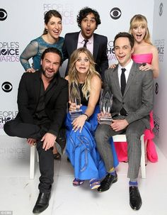 The Big Bang Theory at the 2014 People's Choice Awards