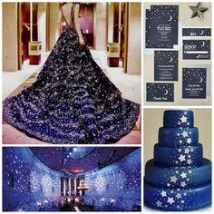 Serve a gorgeous galaxy cake. Serve a gorgeous galaxy cake. Quinceanera Planning, Quinceanera Decorations, Quinceanera Themes, Quince Themes, Quince Decorations, Quince Ideas, Galaxy Wedding, Starry Night Wedding, Space Wedding