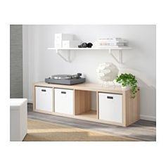 EKBY ÖSTEN / EKBY LERBERG Vegghylle - hvit - IKEA