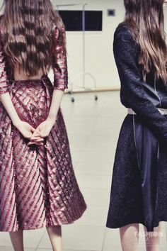 Anna October F/W 13-14 backstage