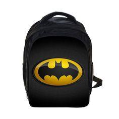 Batman Superman Backpack Kids School Bags For Boys Daily Backpacks Children Backpack Hero Spiderman Bookbag Schoolbags Best Gift