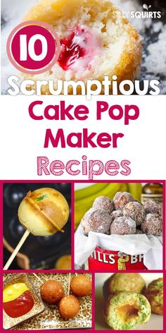 10 Scrumptious Cake Pop Maker Recipes You need a cake pop maker today! They are the bomb. They are totally versatile and kid-approved. Anything you make with this appliance will be devoured. Donut Maker Recipes, Babycakes Recipes, Babycakes Cake Pop Maker, Cake Recipes, Dessert Recipes, Baby Cake Pops, Popcake Maker, Baby Cakes Maker, Cake Pops How To Make