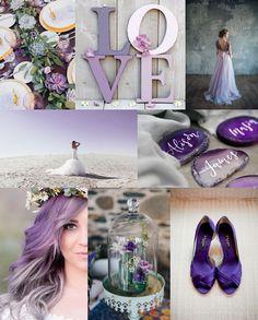 "Inspirationboard: ""Ultra Violet Wedding"" » Humming Heartstrings Orange Purple Wedding, Plum Purple, Wedding Reception, Our Wedding, Wedding Inspiration, Wedding Ideas, Trends, Color Of The Year, Pantone Color"