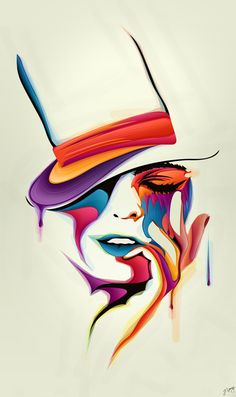 We're All Mad Here by JeremyYoung.deviantart.com Love the colour