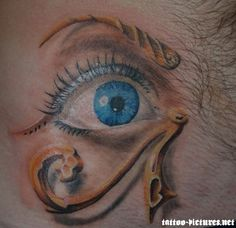 DEMON LEADERS Amun Eye | Egyptian Ra Tattoo | eyecatchingtattoos.com