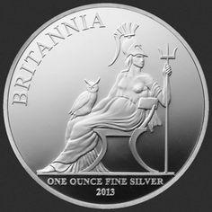 Britannia 2013 Silver Proof Coin
