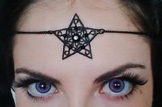 Hey, I found this really awesome Etsy listing at https://www.etsy.com/listing/237921670/black-star-circlet