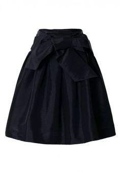 #Chic wish                #Skirt                    #Bowknot #Black #Full #A-line #Skirt                Bowknot Black Full A-line Skirt                                               http://www.seapai.com/product.aspx?PID=1251114