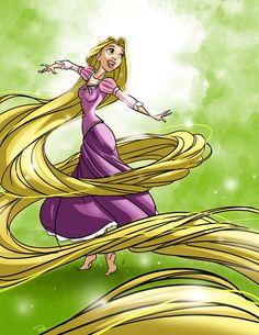 tangled - rapunzel by *rocom