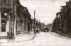 Almelo, Grootestraat oude eind rond 1900  http://www.toenwasalmelonogmooi.nl/