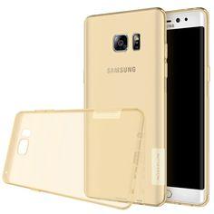 Coque Nature Ultra Fine Samsung Galaxy Note 7 Transparent Doré