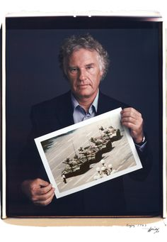 Portraits of Famous Photographers with Their Famous Photographs
