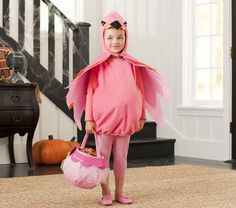 #frightfulfaves Pottery Barn Kids Flamingo Costume. $59. @Pottery Barn Kids @Sharna Campbell