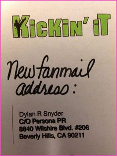 Dylan Riley Snyder Fan Mail Address Kickin It Cast, Disney Stars, Celebs, Fan, Celebrities, Celebrity, Hand Fan, Fans, Disney Channel Stars