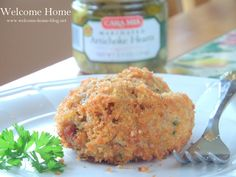 Welcome Home Blog: Deep Fried Artichoke and Rice Croquettes