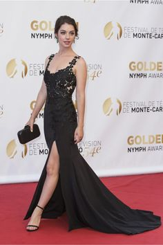Adelaide Kane attends the Monte-Carlo Television Festival: Closing Ceremony, June 2014 Adelaide Kane, Prom Dresses, Formal Dresses, Beautiful People, Dress Up, Celebs, Gowns, Actresses, Lady