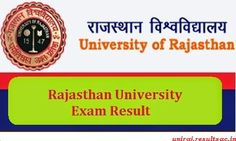 Check Out Rajasthan University Result of M.ED. 2015 — Medium