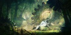 Cog forest by tsonline.deviantart.com on @deviantART