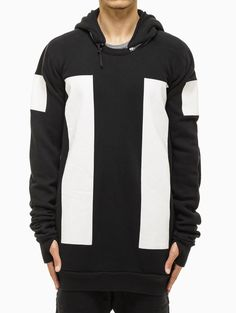 Crew-neck sweater from F/W2014-15 Boris Bidjan Saberi 11 collection in black