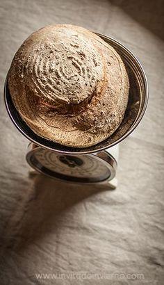 Cómo hacer pan con masa madre. Proporciones y proceso   El Invitado de Invierno Sourdough Recipes, Easy Bread Recipes, Raw Food Recipes, Sourdough Bread, No Knead Bread, Pan Bread, Bread Baking, Pan Dulce, Our Daily Bread