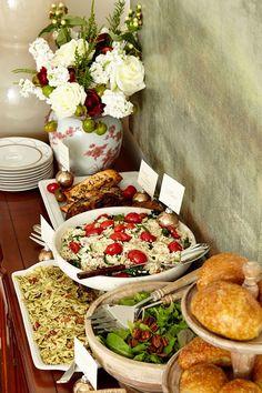 Mesa de Buffet Para o Natal | Sua Casa Sua Festa